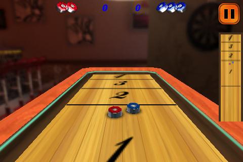 Screenshot 3D Shuffle-Board&Bowling Lite