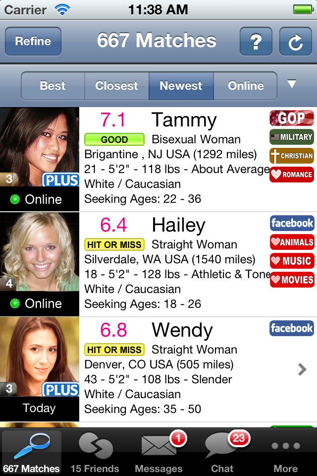 cool dating apps for iphone This one application is the new thing for finding dates online and it is one of the dating apps that work the iphone app to displays singles near you and help you find out your possible partner online.